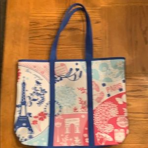 Lancôme Paris Canvas Tote Bag